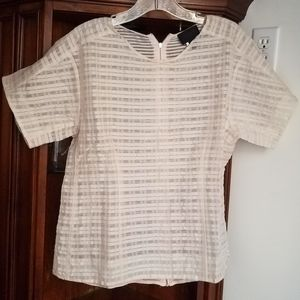 Jcrew Collection  blouse shirt top pink 10